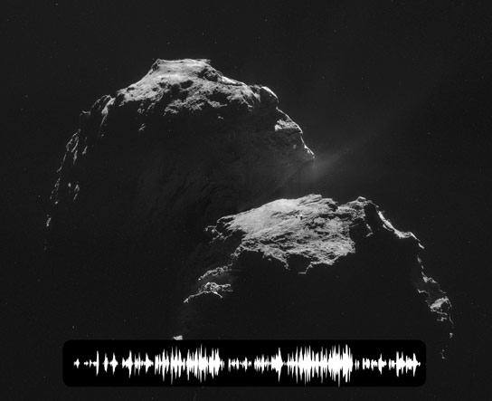 Rosetta Hears Mysterious Noise from Comet 67P