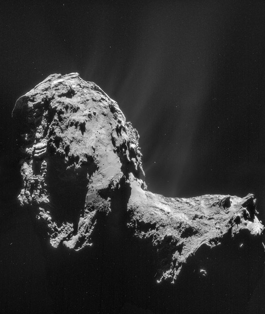 Rosetta Makes Atmosphere Discovery on Comet 67P