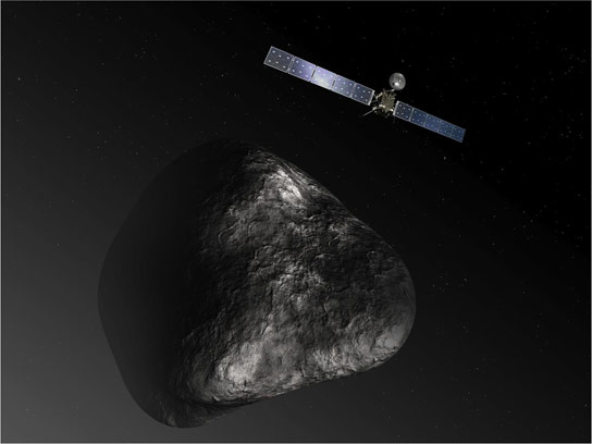 Rosetta Orbiter Delivers of Science Data from Comet 67P