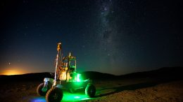 Rover Under the Milky Way IMage