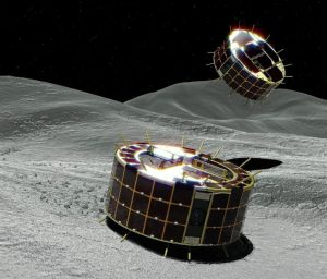Rovers Successfully Land on Asteroid Ryugu