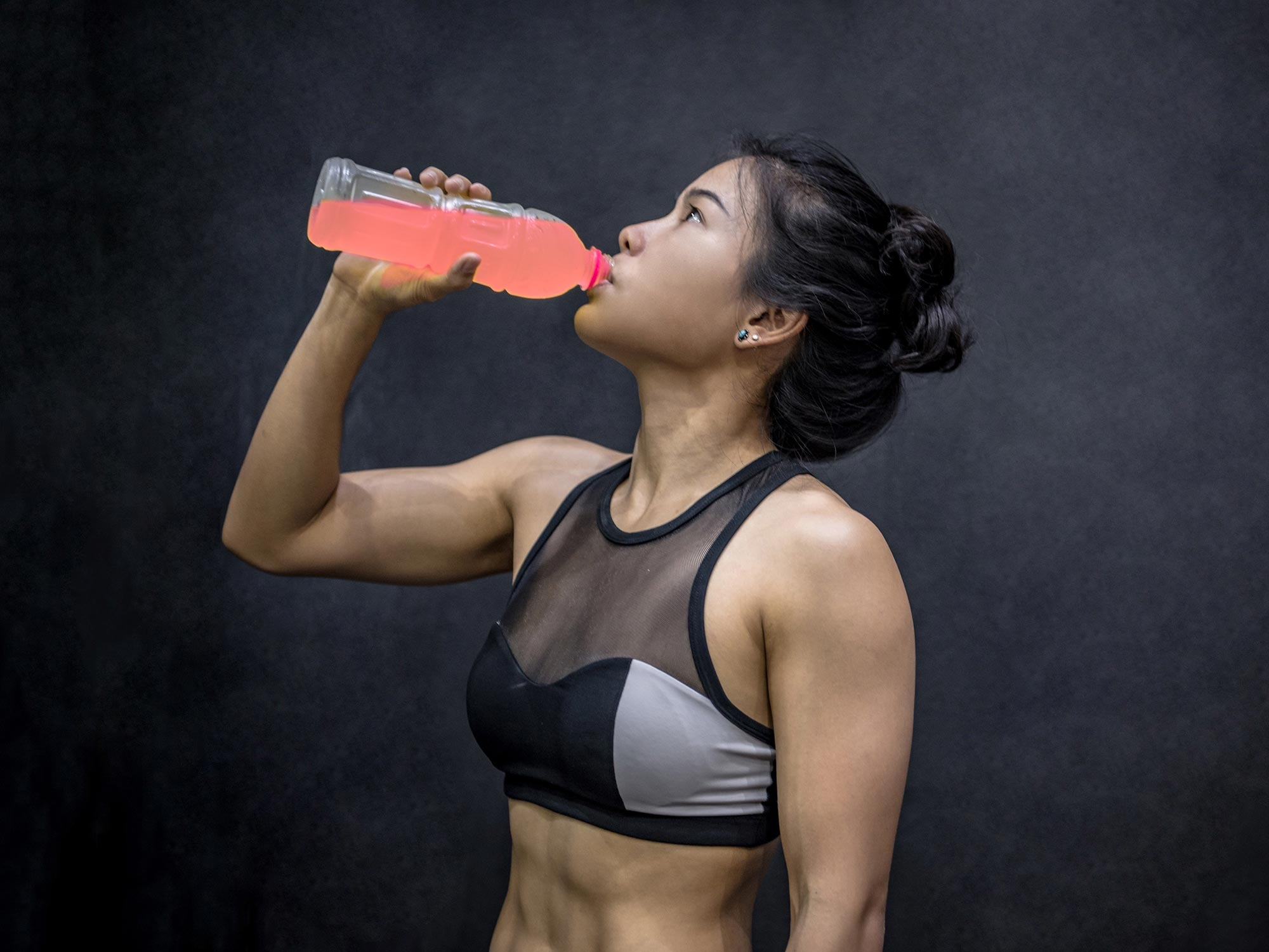Pink Drinks Can Help You Run Faster and Further Compared to Clear Drinks