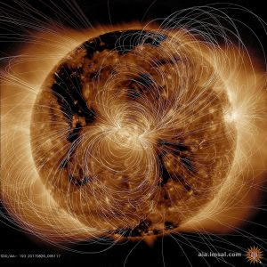 SDO Generates View of the Sun's Magnetic Field