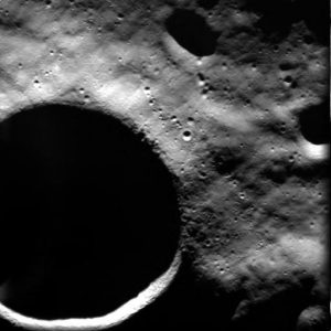 SMART 1 View of Shackleton Crater