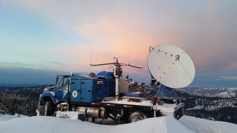 SNOWIE Project Radar Dish