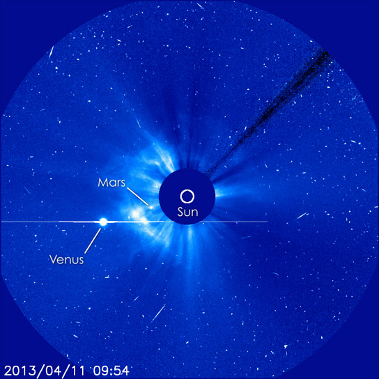SOHO Image of the CME