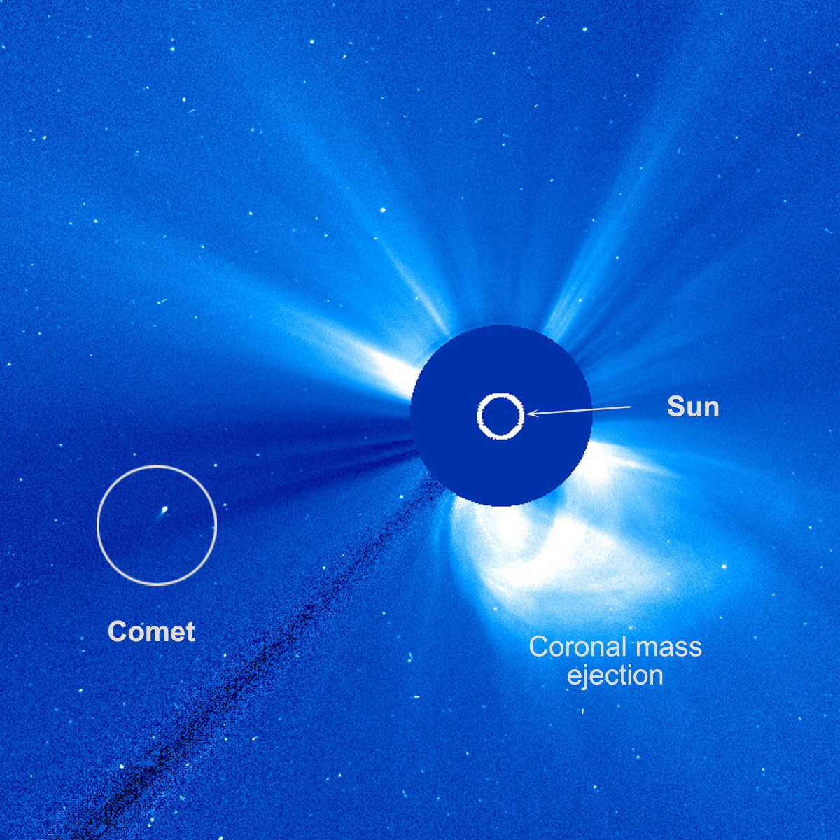 An Unusual Comet Skimmed Past the Sun
