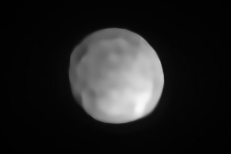 SPHERE/VLT Image of Hygiea