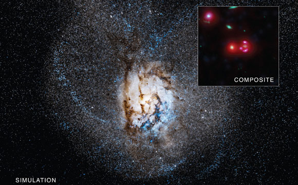 SPT 0346-52 Distant Galaxy Churning Out Stars at Remarkable Rate