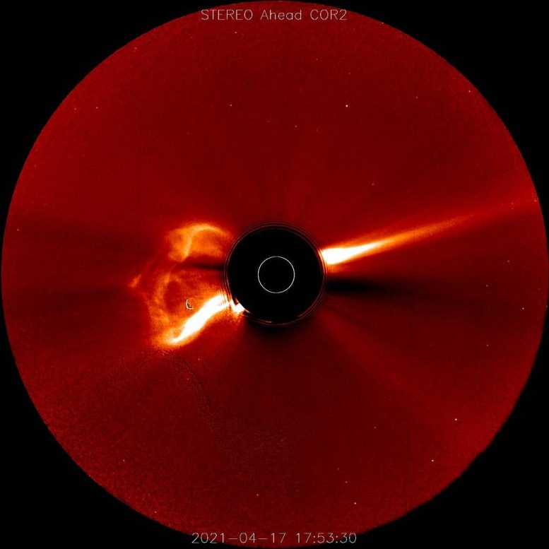 STEREO-A Spacecraft CME April 2021