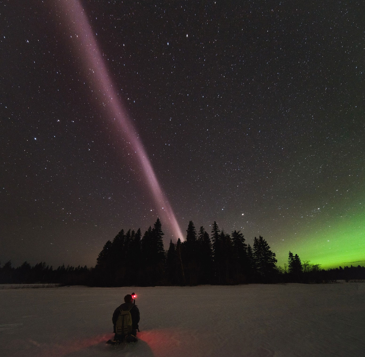 Similar to the Aurora new celestial phenomenon has puzzled scientists