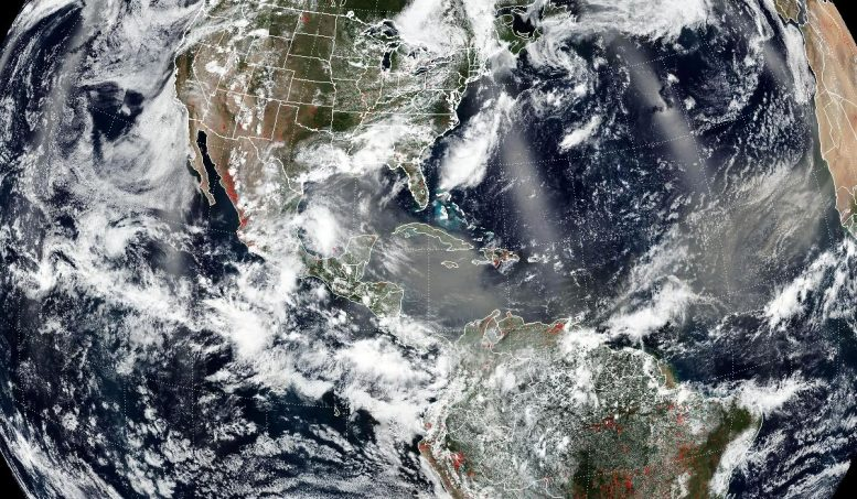 Saharan Dust Plume June 24 2020