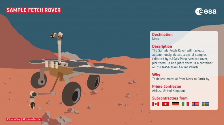 Sample Rover Infographic