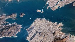 San Francisco Bay From ISS