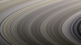 Saturn's Rings Display Their Subtle Colors in Cassini Image