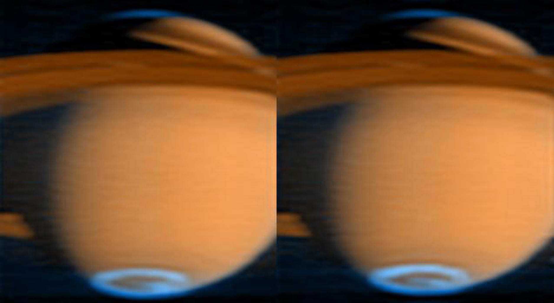 A Mystery of Saturn Revealed Through Spacecraft Cassini