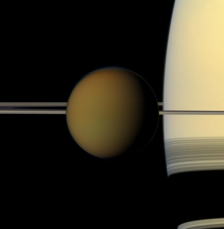 Saturn's Largest Moon, Titan