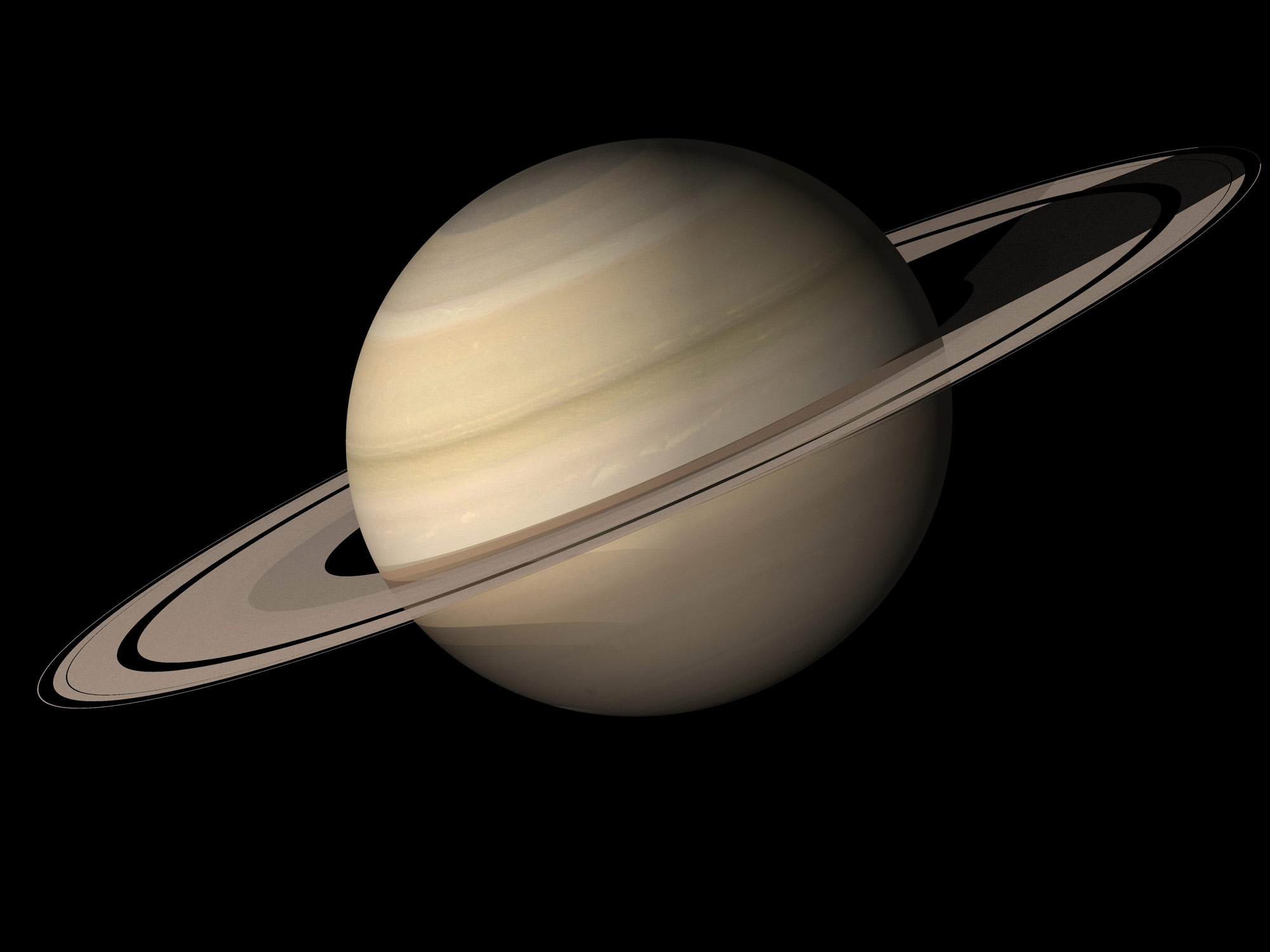 Scientists reveal saturns youthful appearance is the result of researchers discover why saturn appears young altavistaventures Images