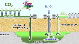 Schematic Low Purity CO2 Storage