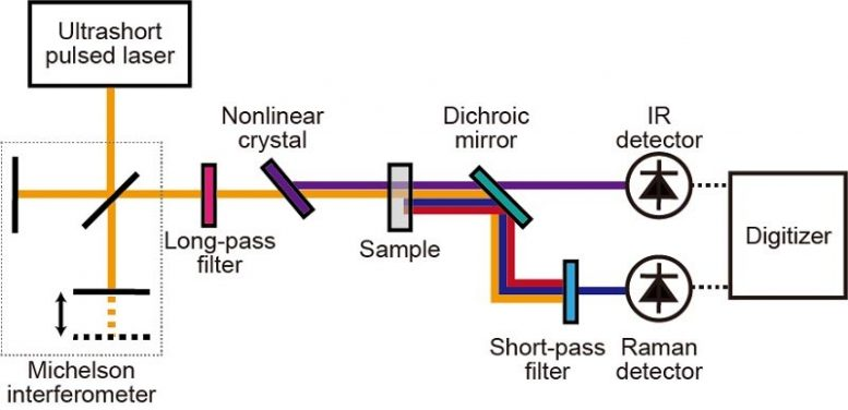Schematic of Complementary Vibrational Spectroscopy