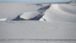 Scientists Collect Bits of the Solar System from an Antarctic Glacier