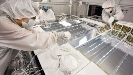 Scientists Complete Installation of Antineutrino Detector