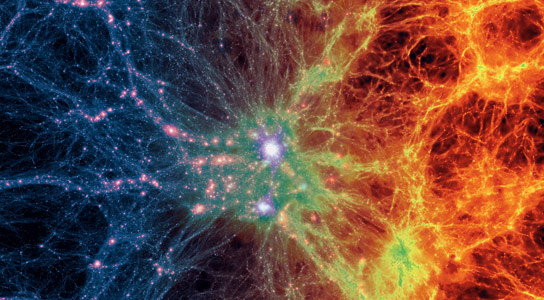 Scientists Create First Realistic Virtual Universe