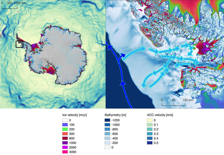 Scientists Detail Cause of Rapid Drawdown of Antarctica's Wordie Ice Shelf