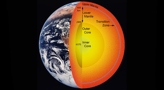 Scientists Detect Evidence of Large Amount of Water in Earths Mantle