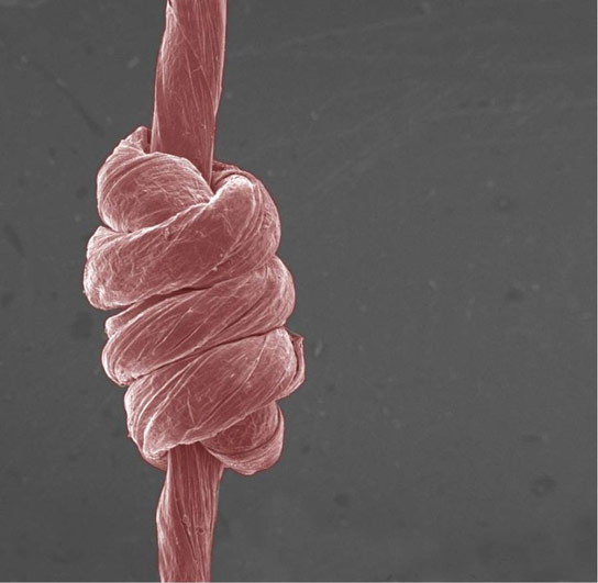 Scientists Develop Super Stretchable Yarn Made of Graphene