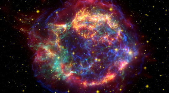 Scientists Discover Hints of Supernova Iron in Bacteria Microfossils