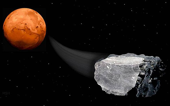 Scientists Discover Methane in Mars Meteorites