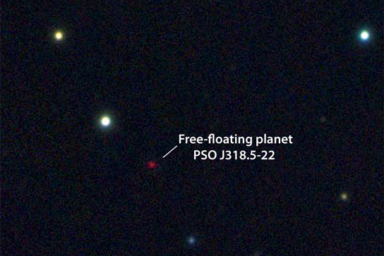 Scientists Discover a Free Floating Planet
