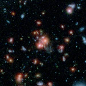 Scientists Discover a Rare Galaxy Cluster