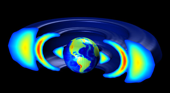 Scientists Explain the Formation of the Unusual Third Van Allen Radiation Ring