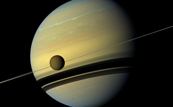 Scientists Find 'Impossible' Cloud on Titan