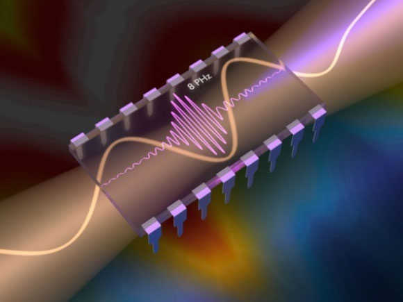 Scientists Generate the Fastest Electric Current to Date Inside a Solid Material