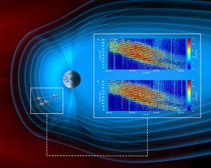 Scientists Identify Zebra-Like Stripes of Plasma in Space