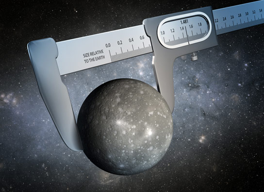 Most Precise Measurement Ever of the Radius of a Planet Outside Our Solar System