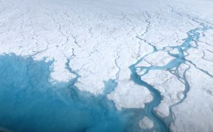 Scientists Measure Meltwater on the Surface of the Greenland Ice Sheet