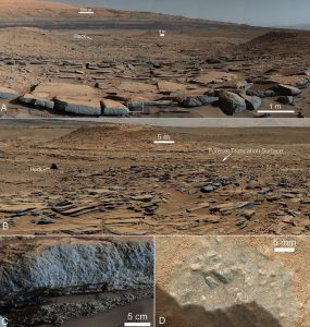 Scientists Reveal Ancient Water Flows and Lakes on Mars