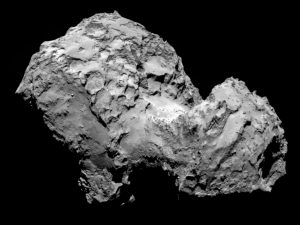 Scientists Show How Comet P67 Chury Was Formed by a Catastrophic Collision