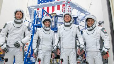 NASA SpaceX Crew-2 Astronauts Head to Space Station to Conduct Microgravity Science