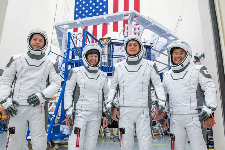 """Second SpaceX Crew Dragon Mission  - Second SpaceX Crew Dragon Mission 777x518 - NASA SpaceX Crew-2 """"Go"""" for April 22 Launch to the International Space Station"""