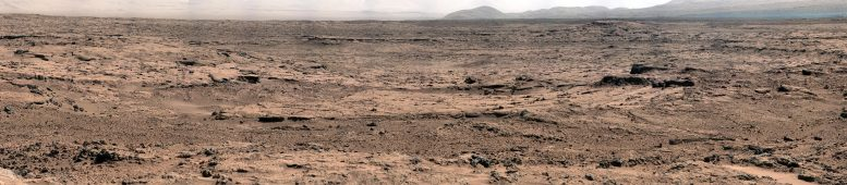 Sedimentary Rock at Gale Crater