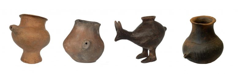 Selection of Late Bronze Age Feeding Vessels