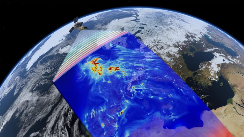 Sentinel-5 Precursor Air Pollution