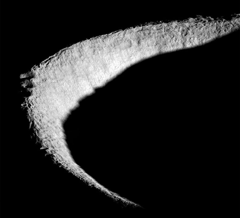 Shackleton Crater on the Moon
