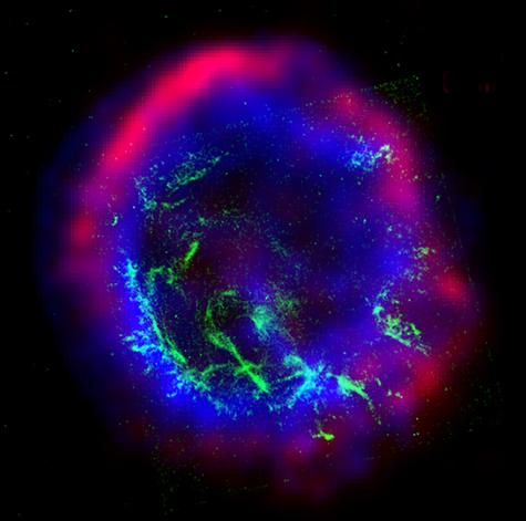 Shock waves from supernova explosions