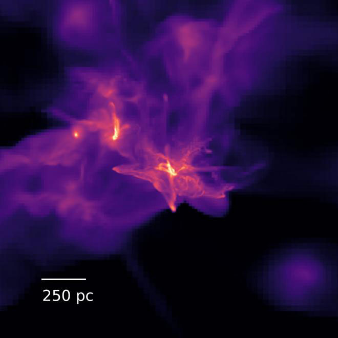 Looking Back in Time to Watch Massive Black Hole Formation